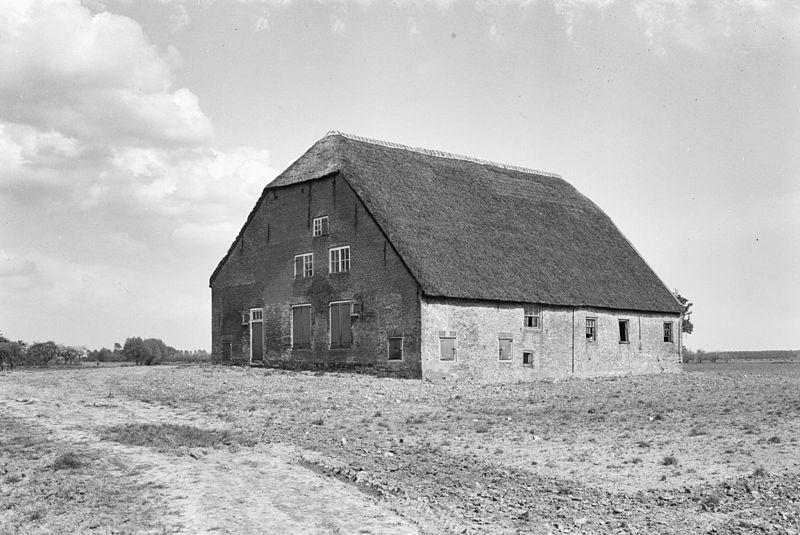 Foto: Boerderij 't Slot rond 1960