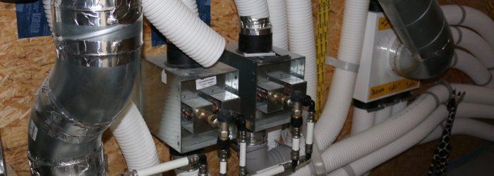 Hydraulische naverwarmer passiefhuis verwarmingsvermogen adequate dimensionering naverwarmde ventilatielucht Kennisinstituut KERN_Azimut Bouwbureau IMG_8084
